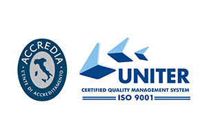 Logo Uniter + Accredia